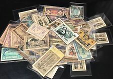 Lot of 20 Paper Notgeld Notes - Banknotes