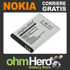 BL-5B Batteria Alta Qualità per Nokia 6060 6070 6080 6101 6120c 6121c (BN1)