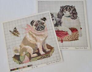 VTG 1987  Elizabeth Bradley  Victorian Animals Needlepoint Charts Set 12