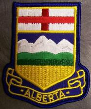 Embroidered International Patch Provincial flag Alberta Canada NEW