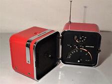 BRIONVEGA: RADIO CUBO ORIGINALE OK TS502 DESIGN ZANUSO SPACE AGE TV MODERNARIATO