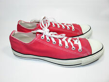 """Converse """"VINTAGE & RARE"""" Red Sneakers Men's 12 """"MADE IN USA"""" GUC"""