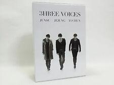 JYJ 3HREE VOICES DVD-BOX JAPAN Limited JUNSU JEJUNG YUCHUN TVXQ