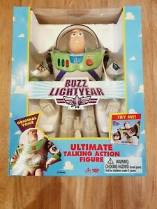 Vintage Toy Story Buzz Lightyear Original 1995 Thinkway Boxed - Tested