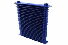 SPORT OIL COOLER RADIATORE OLIO CN-OC-157 M22 BLUE RACE 365x230x50