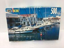 "1993 Rose Art Encore Bridgetown Barbados 500 Piece Jigsaw Puzzle 13""x19"" (L)"