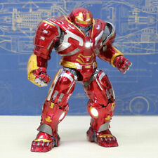 8'' Avengers End Game Iron Man LED Hulkbuster 2.0 Armor Mark Statue Figure