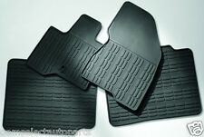 OEM NEW 2013-2014 Lincoln MKT All-Weather Vinyl Floor Mats Rubber Charcoal Black