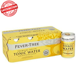 Fever-Tree Indian Tonic Water, Natural Flavours Fresh Citrus - (8 x 150ml)