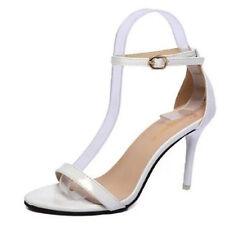 Boho Women Ladies Summer Ankle Strap Peep Toe Sandals Court High Heel Shoes Sz