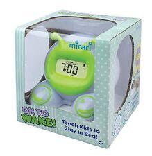 NEW Mirari OK To Wake Kids Alarm Clock & Nightlight