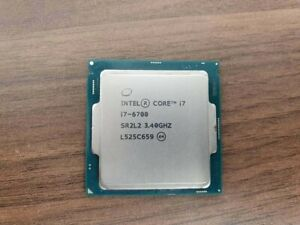 Intel Core i7-6700 3.40GHz Processor Tested Working