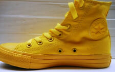 336 CONVERSE SCARPA UOMO/DONNA HI CANVAS MONOCHROME YELLOW 152700C EUR 41 UK 7,5