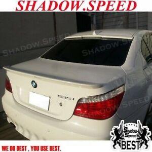 Stock Combo C Roof Spoiler + Trunk Spoiler Wing For 04~10 BMW 5-Series E60 Sedan