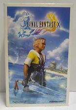 FINAL FANTASY X PRESS KIT BOX DEMO PS2 PLAYSTATION 2 ACTION FIGURE YUNA RARE