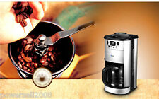 New Stainless Steel Grinding Automatic Drip Coffee Maker Machine Coffee Pot
