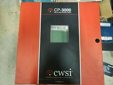 CWSI Wireless Fire Alarm Systems CP-3000 Wireless Fire Alarm Panel - Used