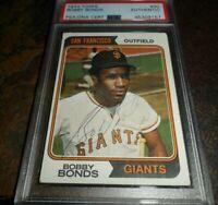 1974 Bobby Bonds Topps #30 SIGNED Auto Autograph SAN FRANCISCO GIANTS PSA/DNA