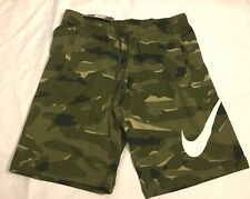 0845b62ff231 Mens Nike Camo Shorts French Terry Camouflage AQ0602 325 Size S M L NWT $45!