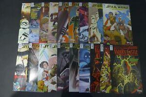LOT OF (19) STAR WARS ADVENTURES COMICS: 2 4 5 6 7 8 13 16 17 20 21 23 28, +MORE