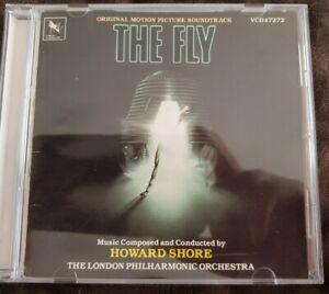 THE FLY ORIGINAL MOTION SOUNDTRACK HOWARD SHORE VARESE SARABANDE CD VCD47272