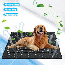 M Dog Cooling Mat Pet Cat Chilly Non-Toxic Summer Cool Bed Pad Cushion Indoor