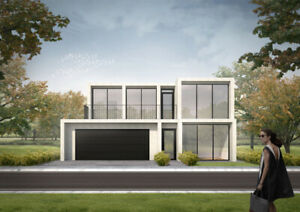 kit homes mgoboard Prefabricated Modular system $1500 per m2 modern design