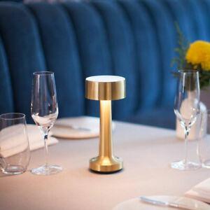 Cordless Bar Table Lamps Rechargeable Battery Restaurant Bedroom Light Fixtures