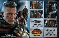 Hottoys HT 1/6 Deadpool 2 Cable MMS583 Collectible Action Figure Model