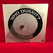 """CRASS Who Dunnit? - 1983 UK 7"""" BLACK Vinyl single EXCELLENT CONDITION"""