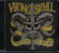 VIKING SKULL - Cursed By The Sword - CD Album *NEW (Unsealed)*