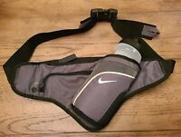 New Nike Running Bottle Waist Pack Belt 18 oz Gray