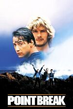 New listing Poster Point Break Patrick Swayze Keanu Reeves 1991 Surf Extreme SPORTS #5