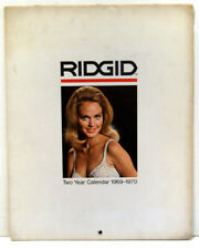 Rigid Tools Two-Year Calendar 1969 Vintage Rare Pin-Up Cheesecake Photography