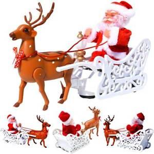 Electric Musical Christmas Singing Xmas Santa Funny Doll Toy Ornament Decor Gift