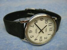 Men's TIMEX Water Resistant Easy Reader Watch w/ Backlight & New Battery