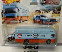 Hot Wheels Team Transport Lancia Rally 037 Euro Hauler Gulf   #26