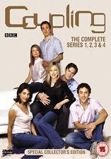 COUPLING SERIES 1 - 4 BOX SET - DVD - REGION 2 UK