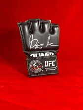 """DIEGO """"NIGHTMARE"""" SANCHEZ UFC SIGNED OUANO GLOVE MMA"""