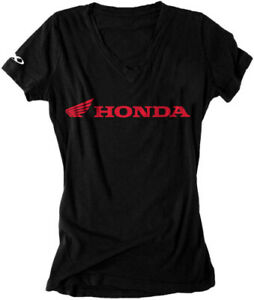Factory Effex Honda Horizontal Women's T-Shirt Girls Womens Motorcycle