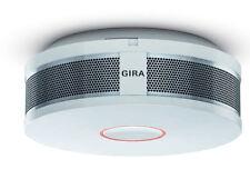 Gira Rauchwarnmelder Dual Q Rauchmelder 233602 reinweiß glänzend mit Batterie