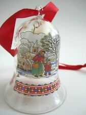 2002 Hutschenreuther Crystal Bell Christmas Ornament