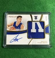 2019 Panini Immaculate TYLER HERRO RC Rookie Auto Patch RPA /99