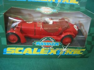 SCALEXTRIC C241 ALFA ROMEO RED RACING CLASSIC SERIES GREEN CARD BOXED