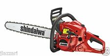 "Shindaiwa 491S-20 50.2 CC Chainsaw with 20"" Bar and Chain, i-30 Starting System"