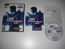 LMA PROFESSIONAL MANAGER 2005 Pc DVD Rom  FAST DISPATCH