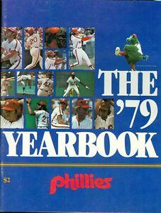 1979 Philadelphia Phillies Yearbook Pete Rose, Steve Carlton & Mike Schmidt