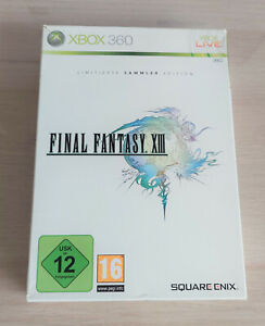 Final Fantasy XIII 13- Limited Collector's Edition - Microsoft Xbox 360