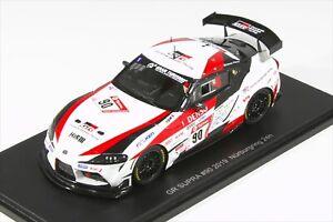 JPN LE Spark 1:43 Toyota GR Supra Nurburgring 24h 2019 Morizo GR19A011 NEW