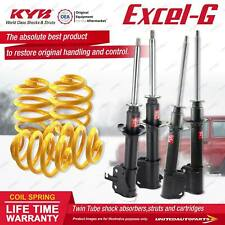 F+R KYB EXCEL-G Shock Absorbers Lowered King Springs for DAIHATSU Charade G200